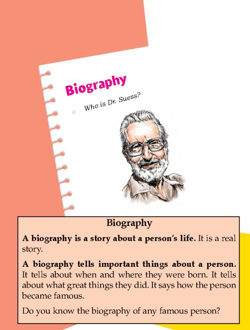 Literature Grade 1 Biography