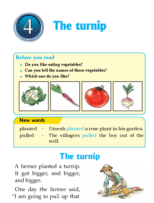 Literature Grade 1 fables and folktales the turnip