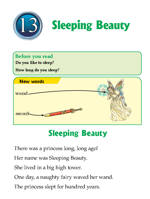 Literature Grade 1Fairy tales Sleeping Beauty