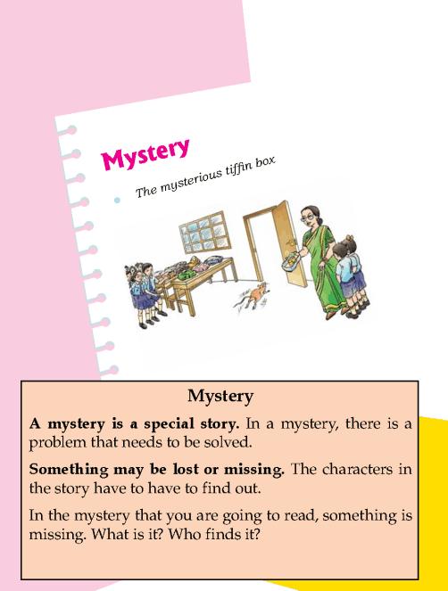 Literature Grade 1 Mystery