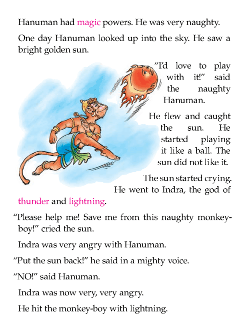 literature-grade 1-myths and legends- hanuman and the sun (2)
