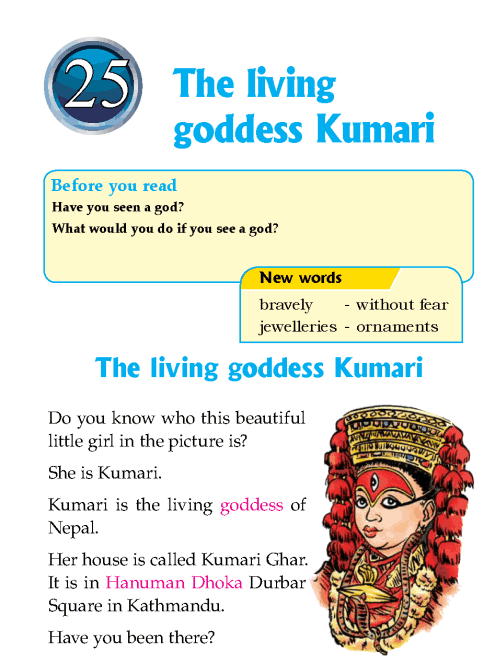 literature-grade 1-nepal special- the living goddess kumari (1)