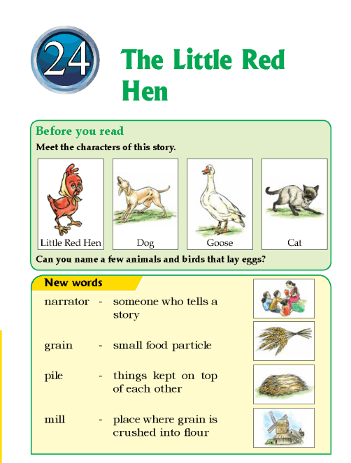 Literature Grade 1Play The Little Red Hen