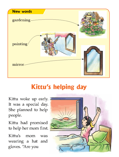 Literature Grade 1 Short stories Kittu's helping day ...