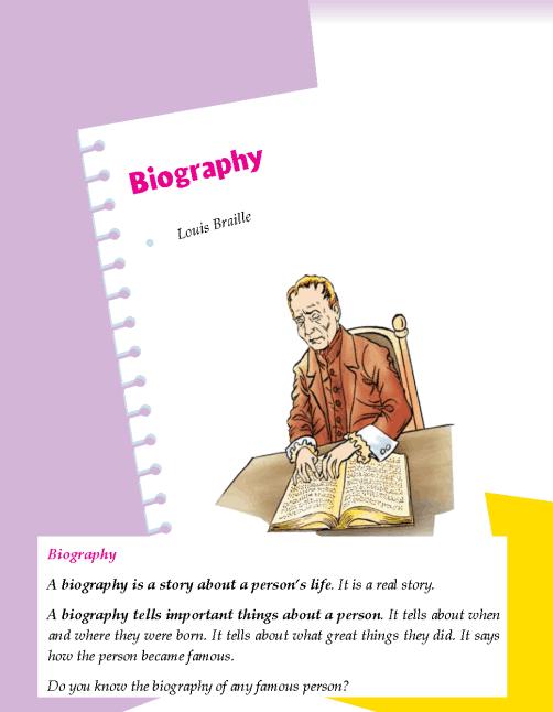 Literature Grade 2 Biography