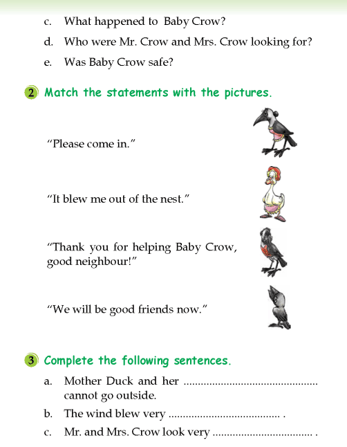 literature- grade 2-fables and folktales-Mother Duck and Baby Crow (5)