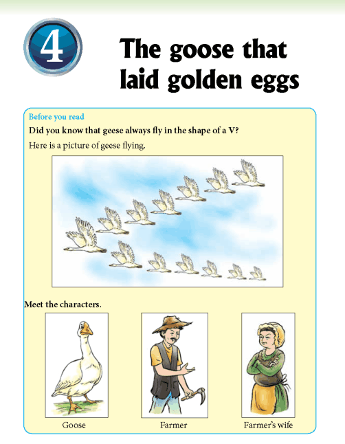 Literature Grade 2 Fables and folktales The goose that laid golden eggs