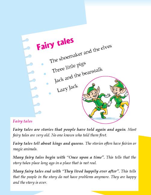 Literature Grade 2 Fairy tales
