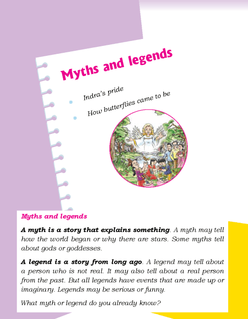 Literature Grade 2 Myths and legends