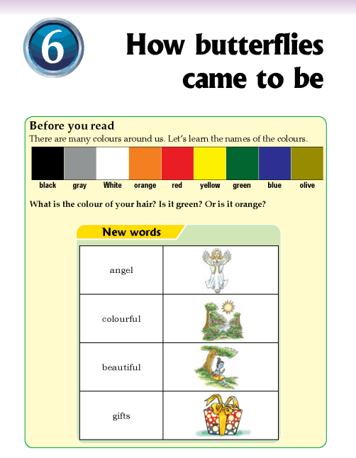 Literature Grade 2 Myths and legends How butterflies came to be