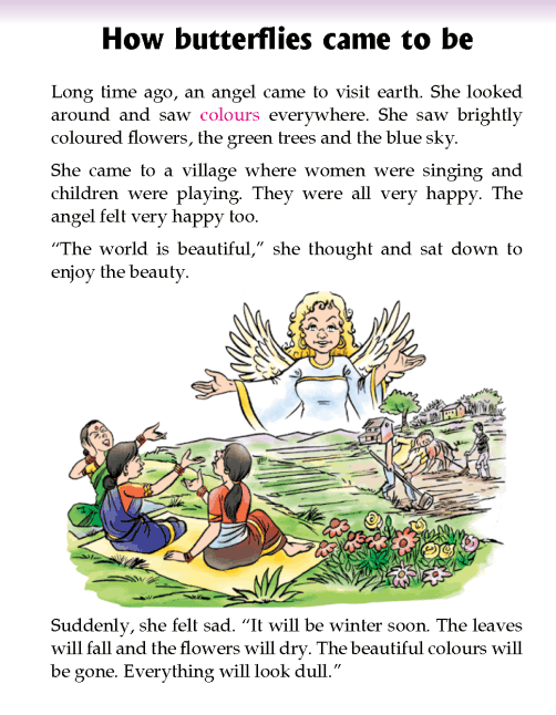 literature- grade 2- myths and legends-How butterflies came to be (2)