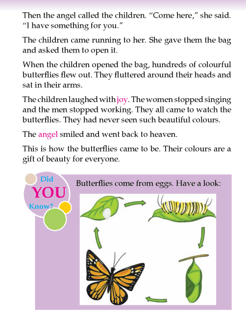 literature- grade 2- myths and legends-How butterflies came to be (4)