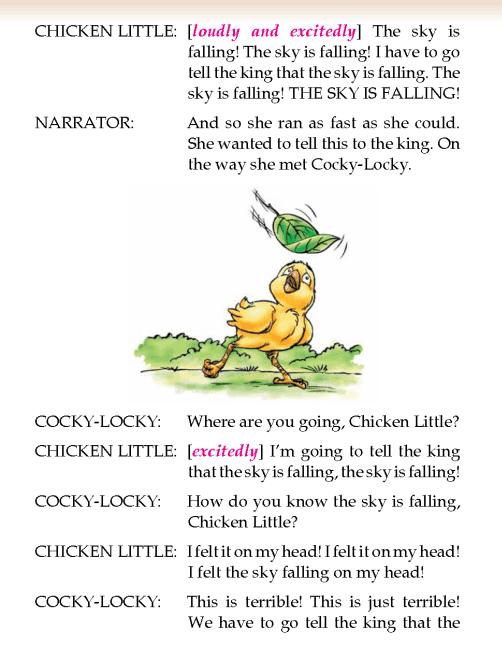 literature- grade 2-play-Chicken Little (2)
