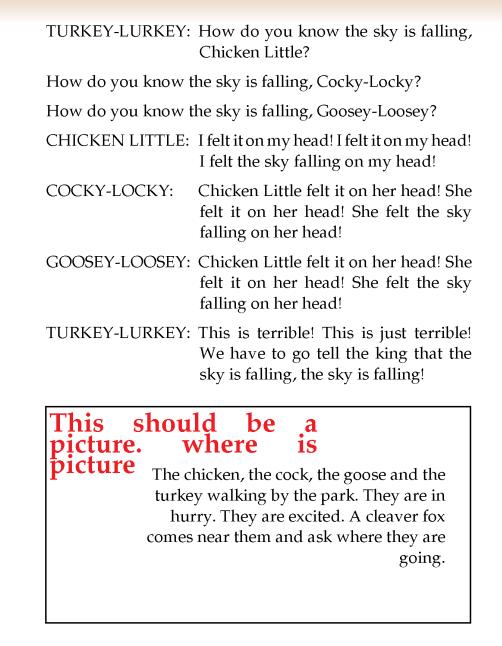literature- grade 2-play-Chicken Little (5)