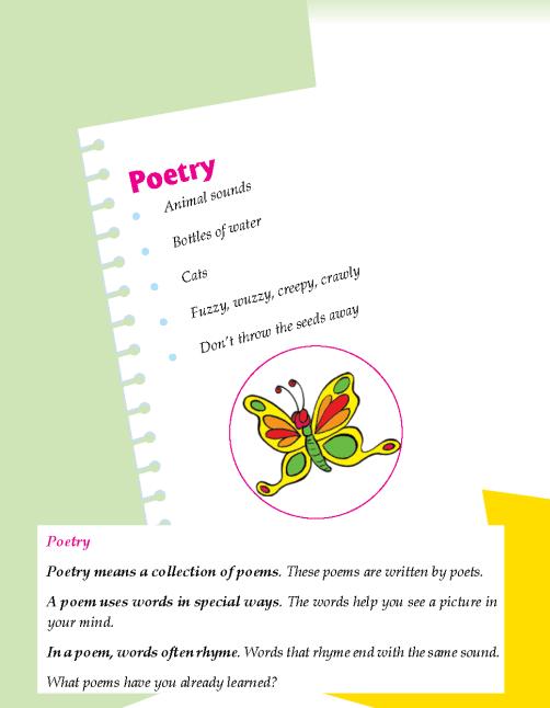 Literature Grade 2 Poetry
