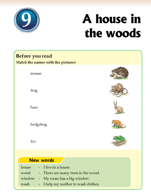 Literature Grade 2 Short stories A house in the woods