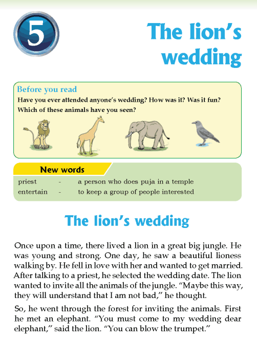 literature-grade 3-Fables and folktales- The lions wedding (1)