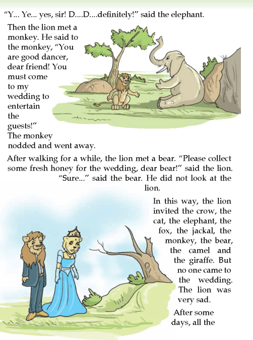 literature-grade 3-Fables and folktales- The lions wedding (2)