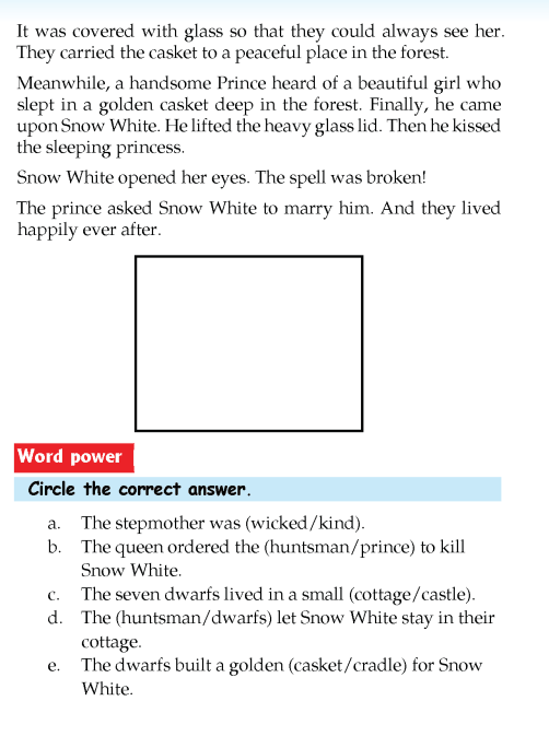 literature-grade 3-Fairy tales-Snow White and the seven dwarfs (5)