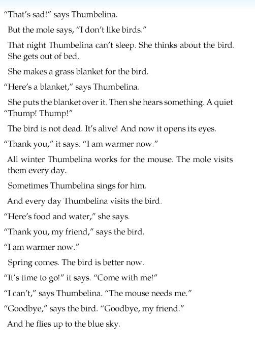 literature-grade 3-Fairy tales-Thumbelina (4)