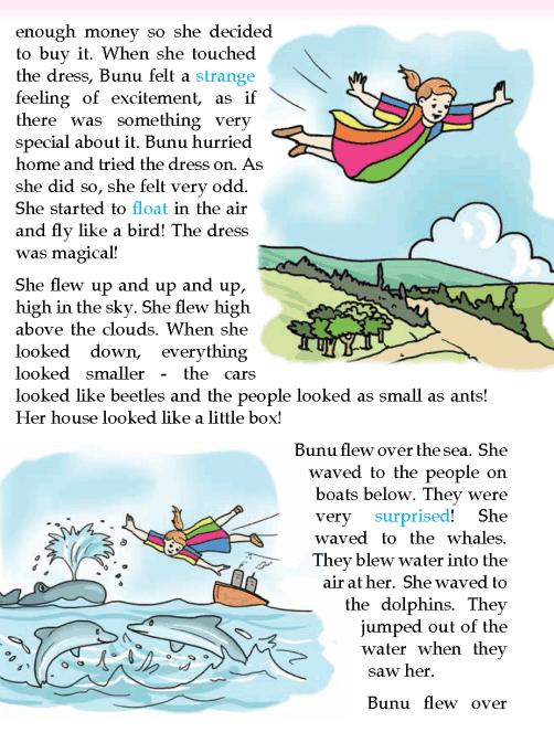 literature-grade 3-Fantasy-A magic dress (2)