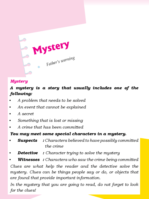 Literature Grade 3 Mystery