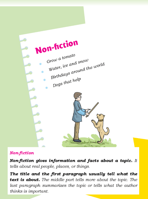 Literature Grade 3 Non-fiction