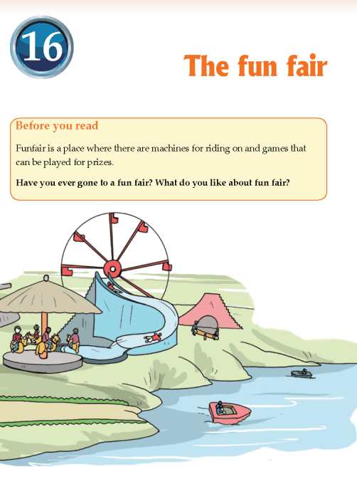 Literature Grade 3 Poetry The fun fair