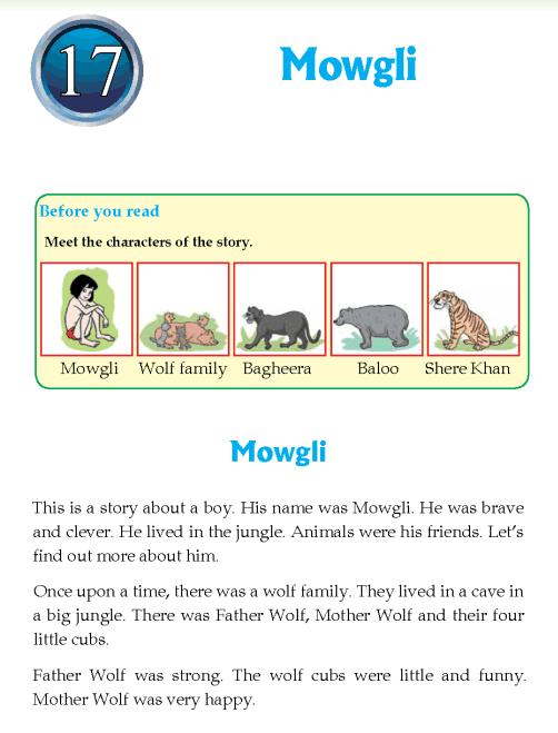 Literature Grade 4 Classic Mowgli