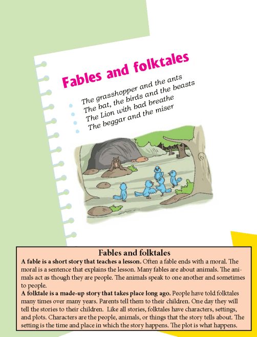 literature- grade 4-Fables and folktales (1)