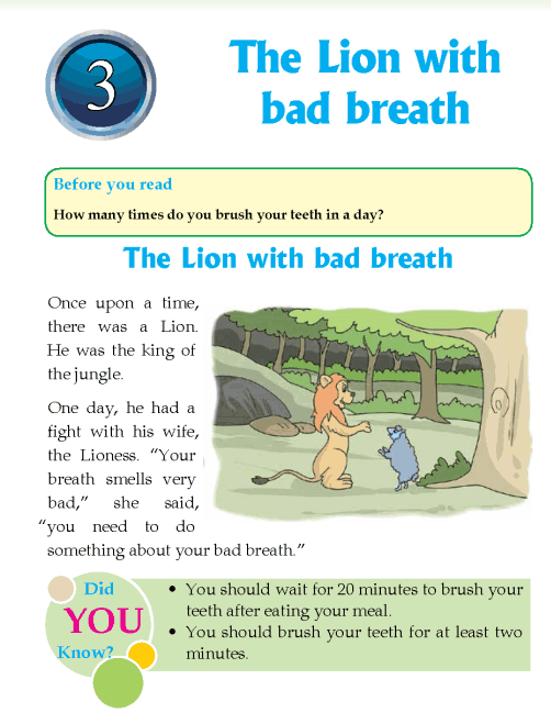 Literature Grade 4 Fables and folktales The Lion with bad breath