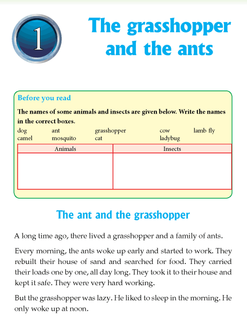 literature- grade 4-Fables and folktales-The grasshopper and the ants (1)