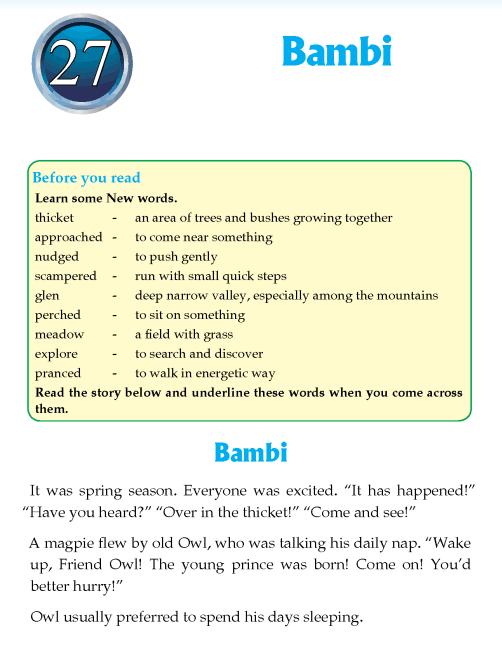 Literature Grade 4 Fairy Tales Bambi