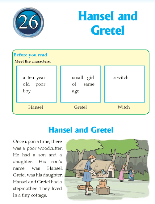 Literature Grade 4 Fairy Tales Hansel and Gretel