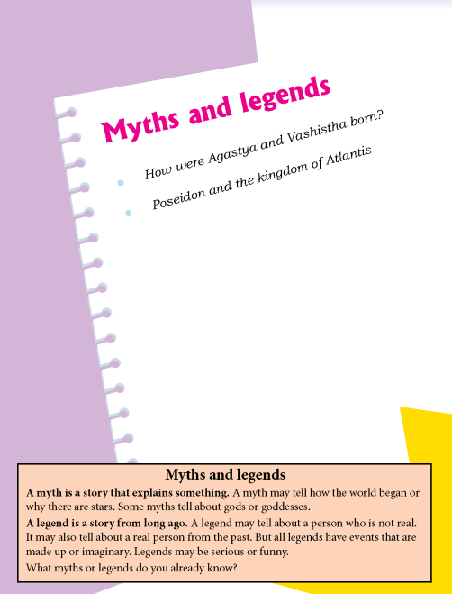 Literature Grade 4 Myths and legends
