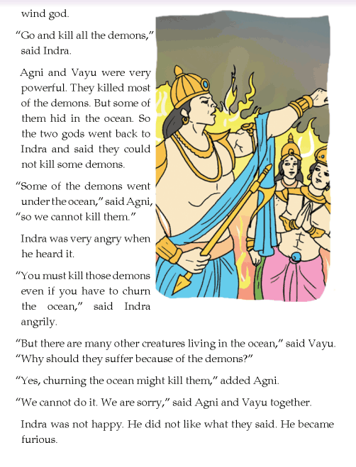 literature- grade 4-Myths and legends-How were Agastya and Vashistha born (2)
