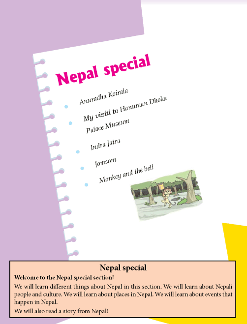Literature Grade 4 Nepal special