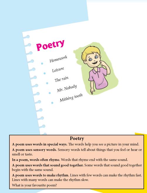 Literature Grade 4 Poetry