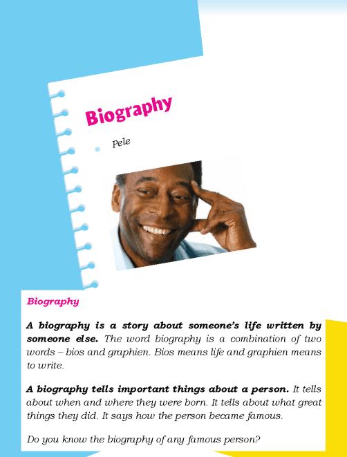 Literature Grade 5 Biography