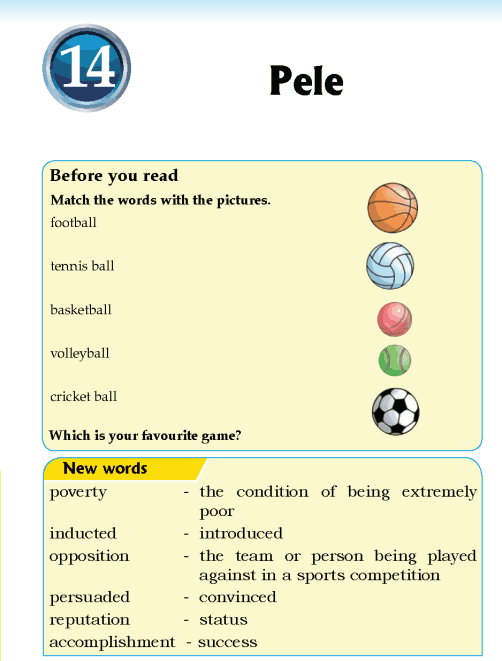 Literature Grade 5 Biography Pele