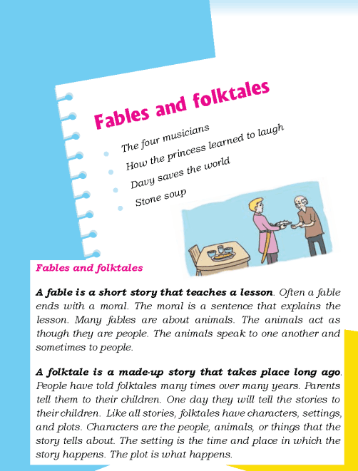literature- grade 5-Fables and folktales (1)