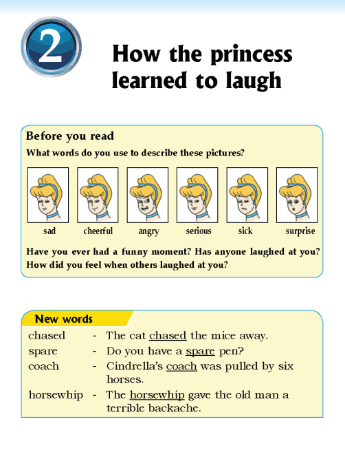 Literature Grade 5 Fables and folktales How the princess learned to laugh