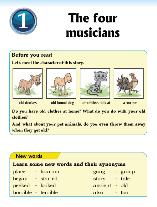 literature- grade 5-Fables and folktales-The four musicians (1)