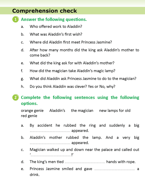 literature- grade 5-Fairy tales-The adventures of Aladdin (9)