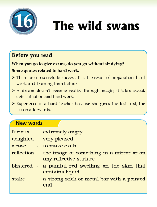 Literature Grade 5 Fairy tales The wild swans