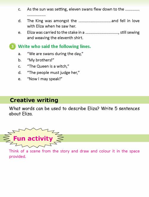 literature- grade 5-Fairy tales-The wild swans (7)