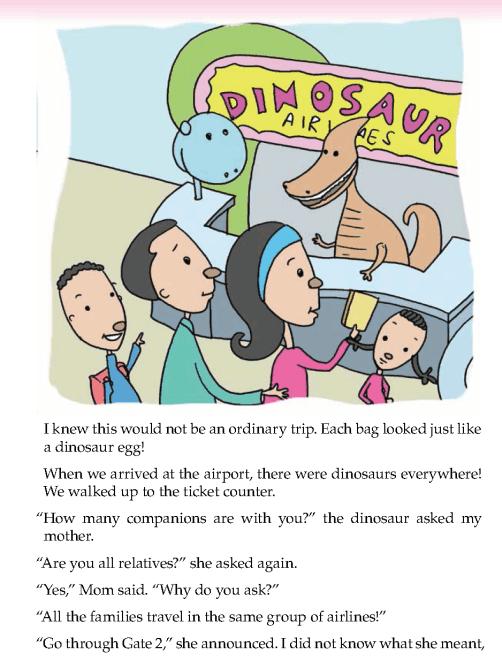 literature- grade 5-Fantasy-A trip on dinosaur airlines (2)