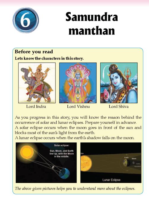 Literature Grade 5 Myths and legends Samundra manthan