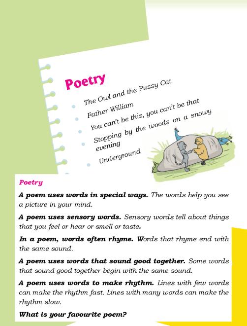 Literature Grade 5 Poetry