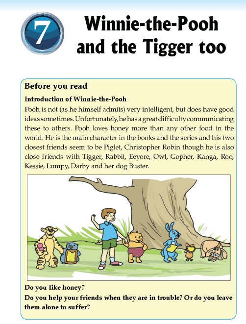 Literature Grade 5 Short Stories Winnie Pooh T Igger on Fairy Tales Theme
